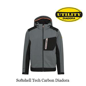 Softshell Tech Carbon Diadora